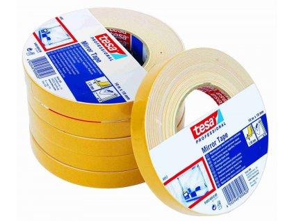 TESA páska 04952 oboustranná lepicí 19mmx10m bílá