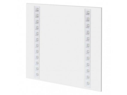 LED panel troffer 60×60, čtvercový vestavný bílý, 27W, neutrální bílá, UGR  ZR1722