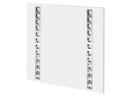 LED panel troffer 60×60, čtvercový vestavný bílý, 36W, neutrální bílá, UGR  ZR1723