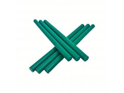 Tavné lepidlo barevné tyčinky zelená