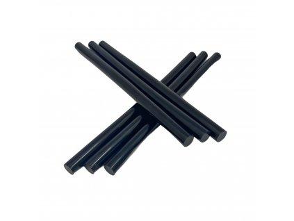 Tavné lepidlo barevné tyčinky černá