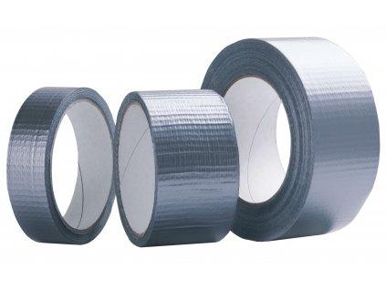 Textilní stříbrná DUCT páska