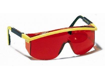 Laserové zjasňující brýle červené  26021