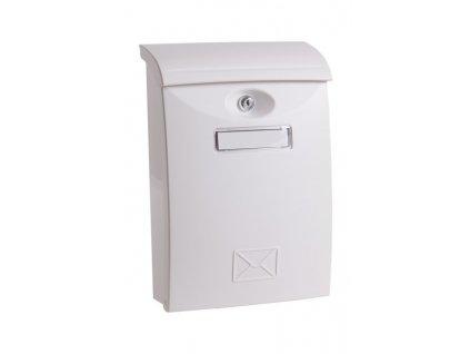 Poštovní schránka PVC bílá 24x10,5x34,5cm  70113