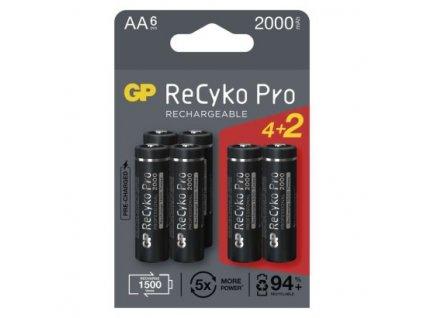 Nabíjecí baterie GP ReCyko Pro Professional AA (HR6)  B2220V