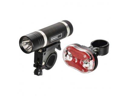 LED přední + zadní svítilna na kolo P3920 na 5× AAA, 150 lm  P3920