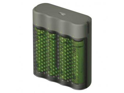 Nabíječka baterií GP Speed M451 + 4× AA ReCyko 2700  B53457