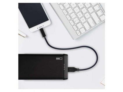 Powerbanka EMOS Alpha 10S, 10000 mAh, černá  B0526B