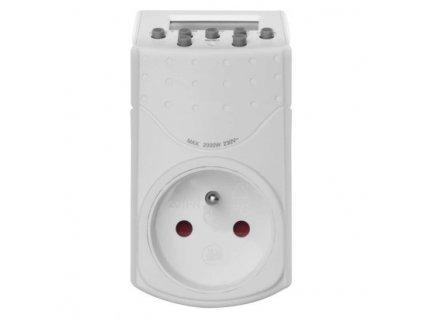 Časovač – digitální spínací zásuvka IP20  P5506