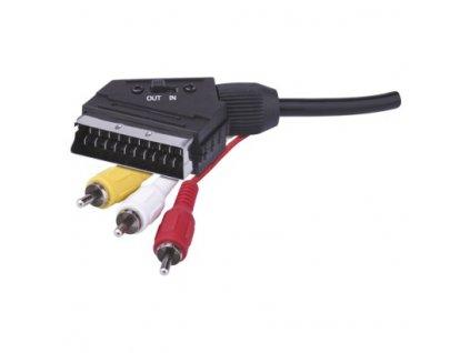 AV kabel SCART - 3x CINCH 1,5m  SB2101