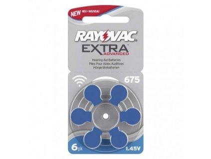 Baterie do naslouchadel RAYOVAC H675MF, blistr  9RH675