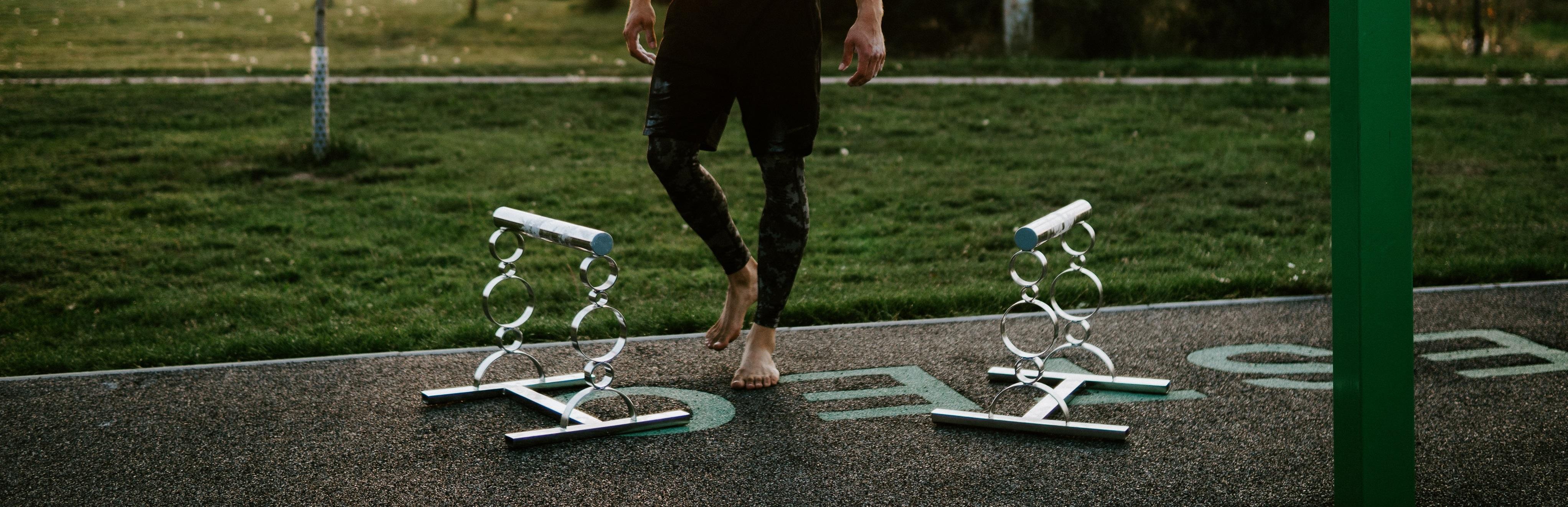 trainer, workout, bradla, hrazdy