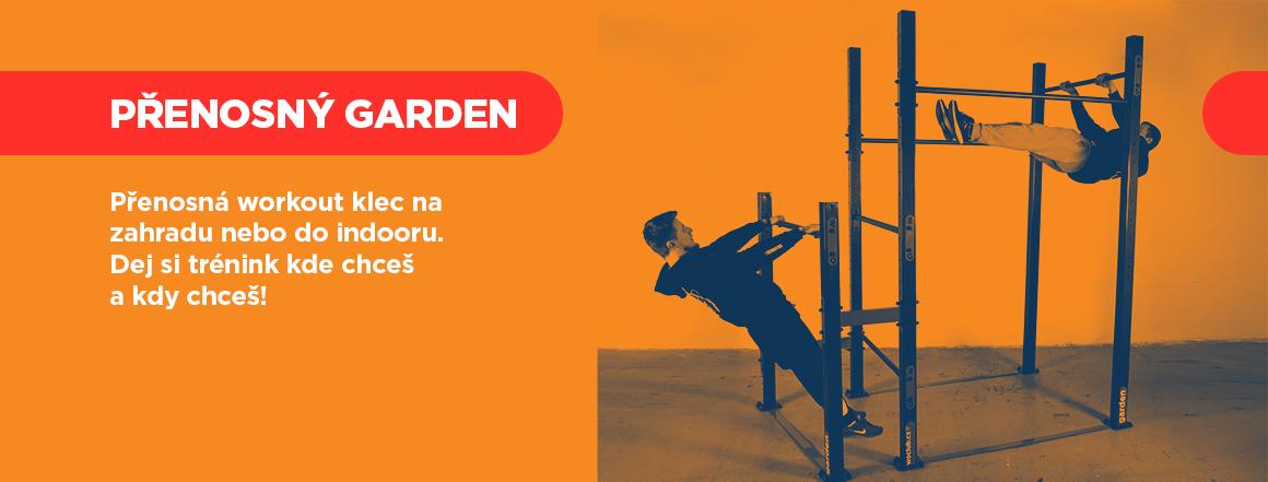 Workoutová klec na zahradu GARDEN