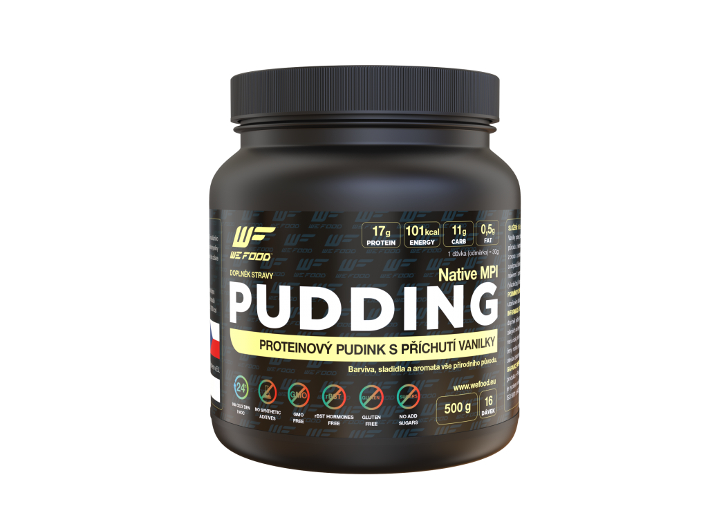 100% NATIVE PUDDING 500G Čokoláda