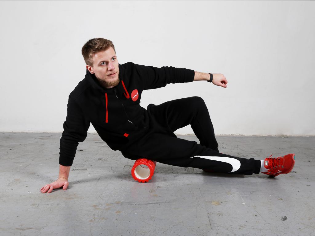 Foam roller masážní válec street workout