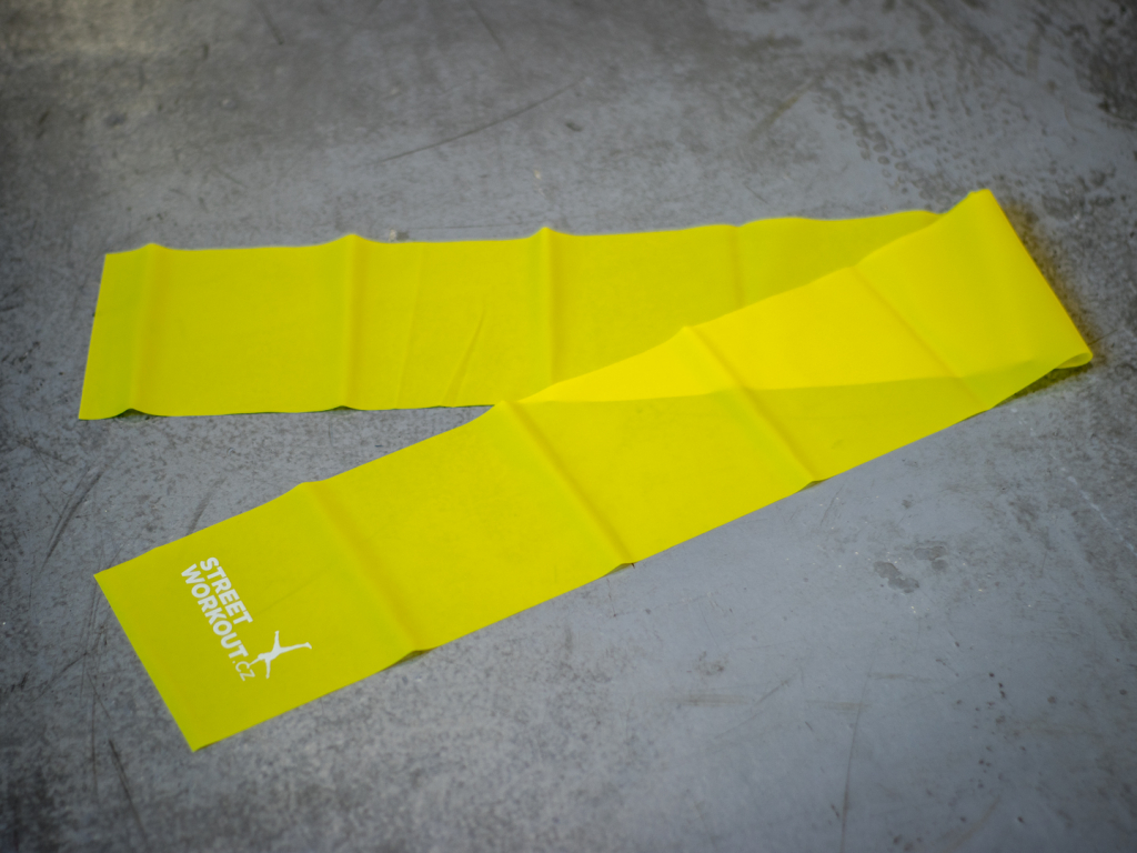Odporová guma POWER BAND ŽLUTÁ slabý odpor