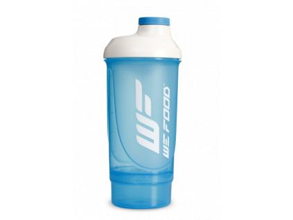 Šejkr WeFood - modrý 600 ml