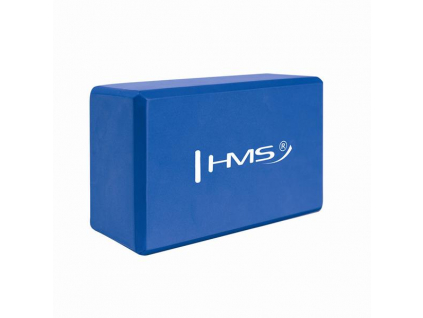 Jóga blok HMS KJ01 modrý