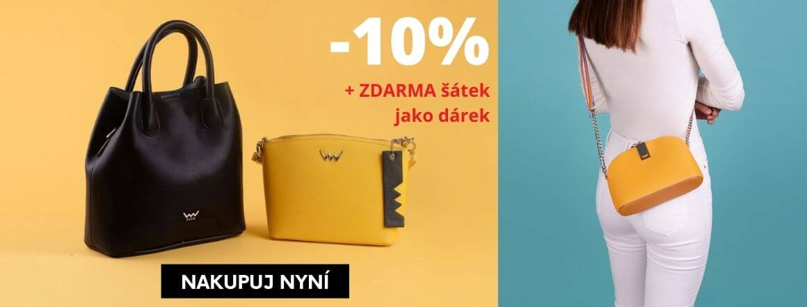 Kabelky Vuch -10% + dárek