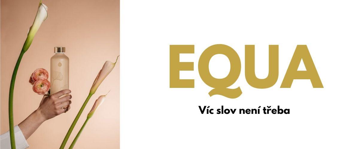 equa skleněné lahve