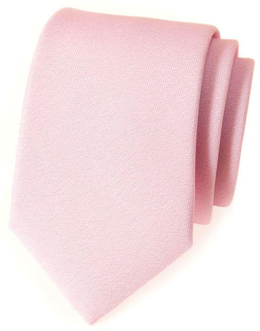 Jednobarevné kravaty (bez vzoru)
