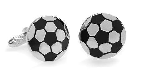 Manžetové knoflíčky pro nadšence do fotbalu