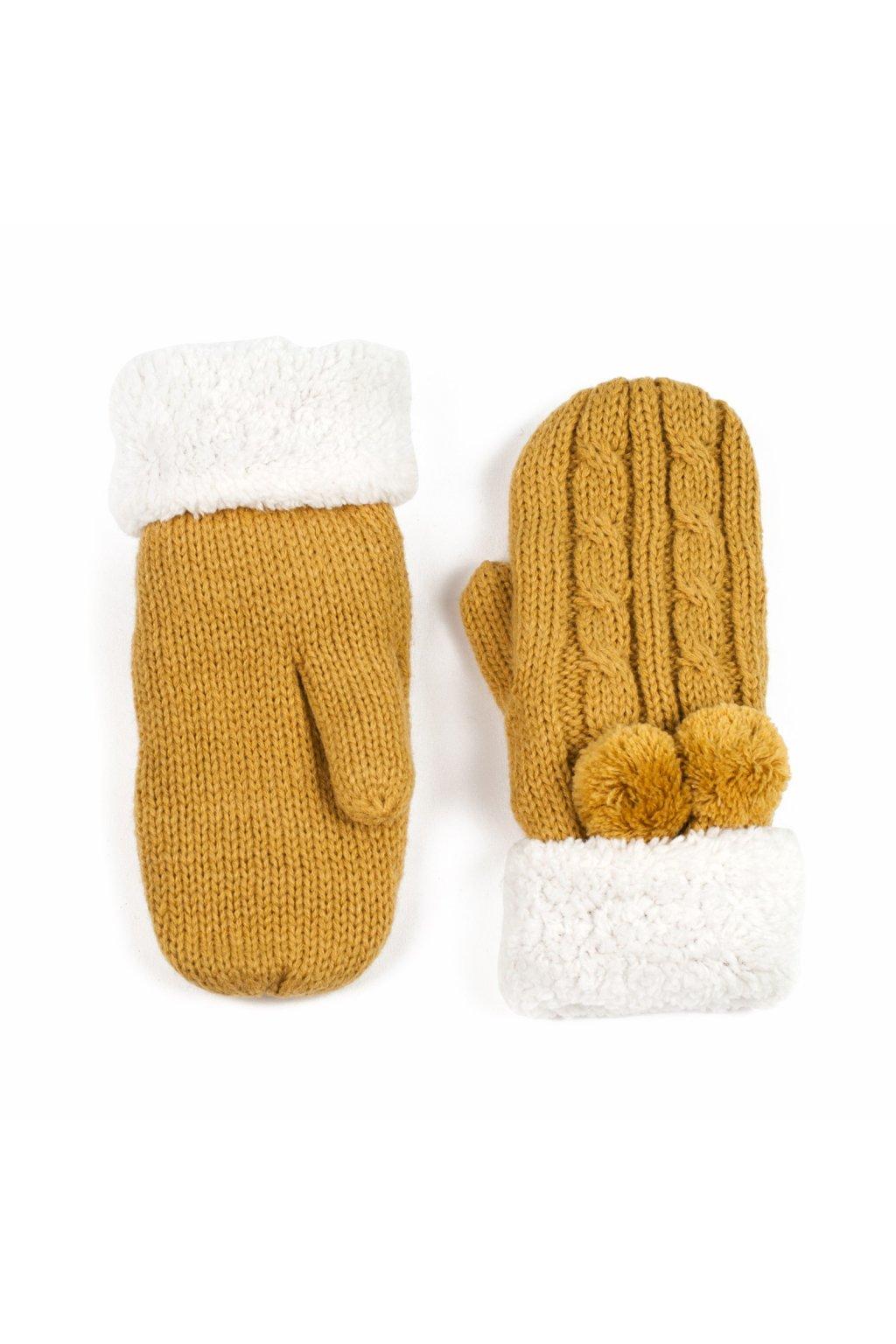 Elegantní pletené palčáky