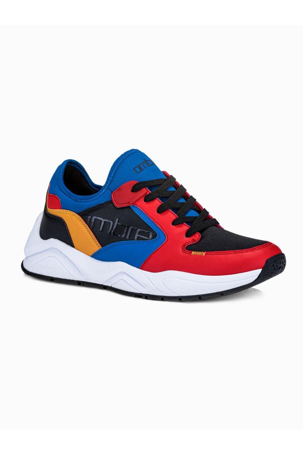 Pánské sneakers T363 - červená