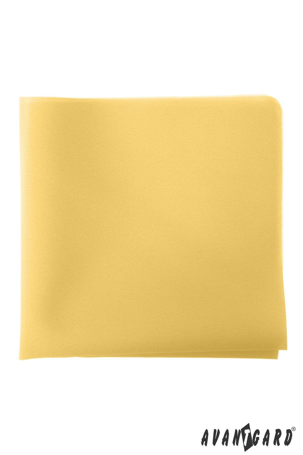 Žlutý kapesníček do saka