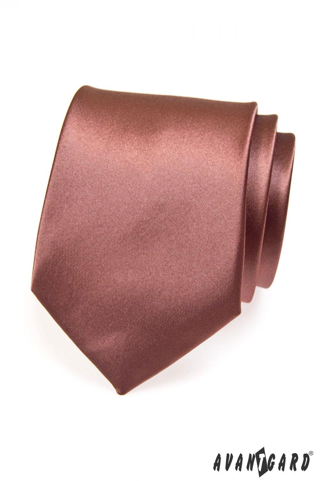 Hnědá kravata