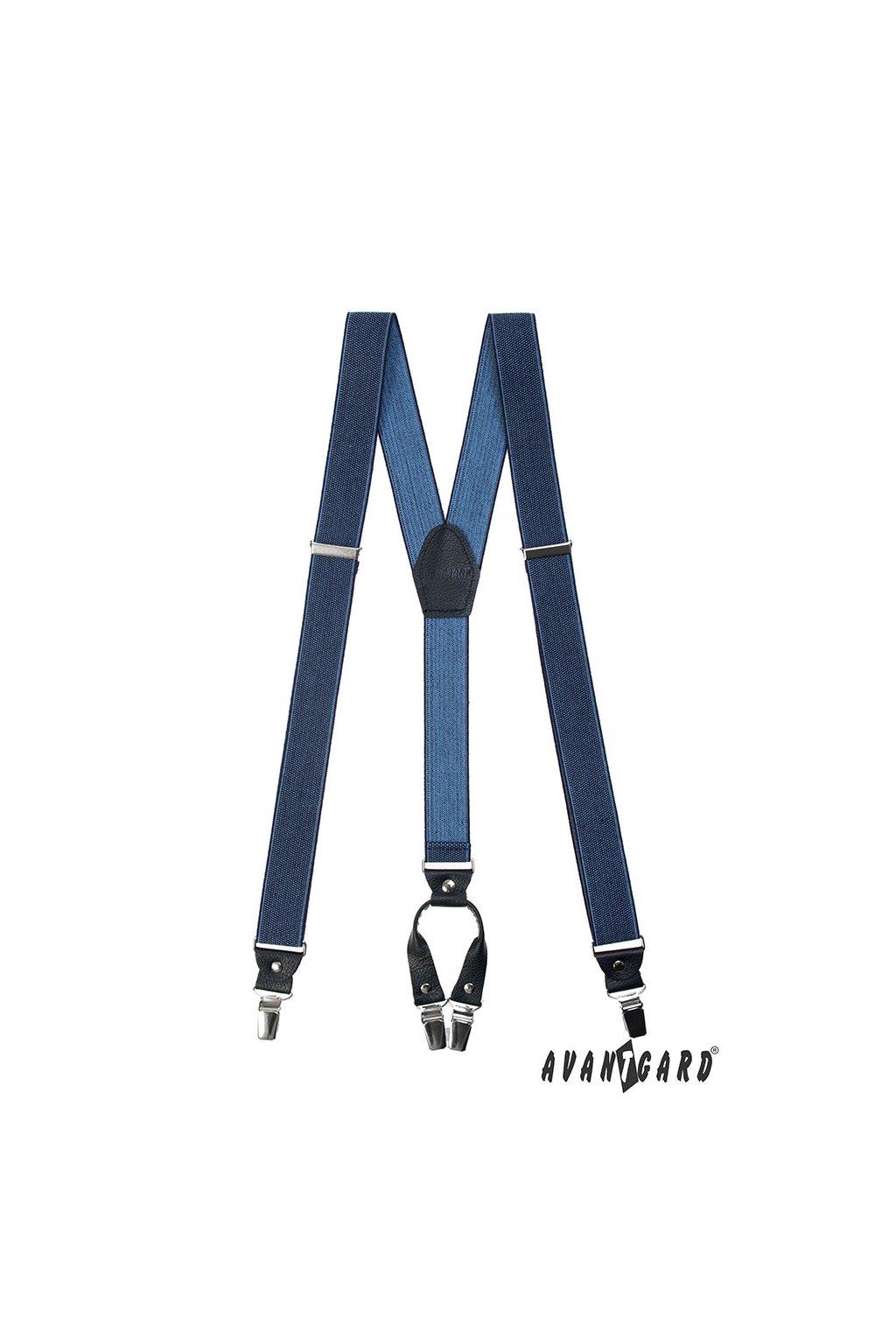 Jeansové kšandy
