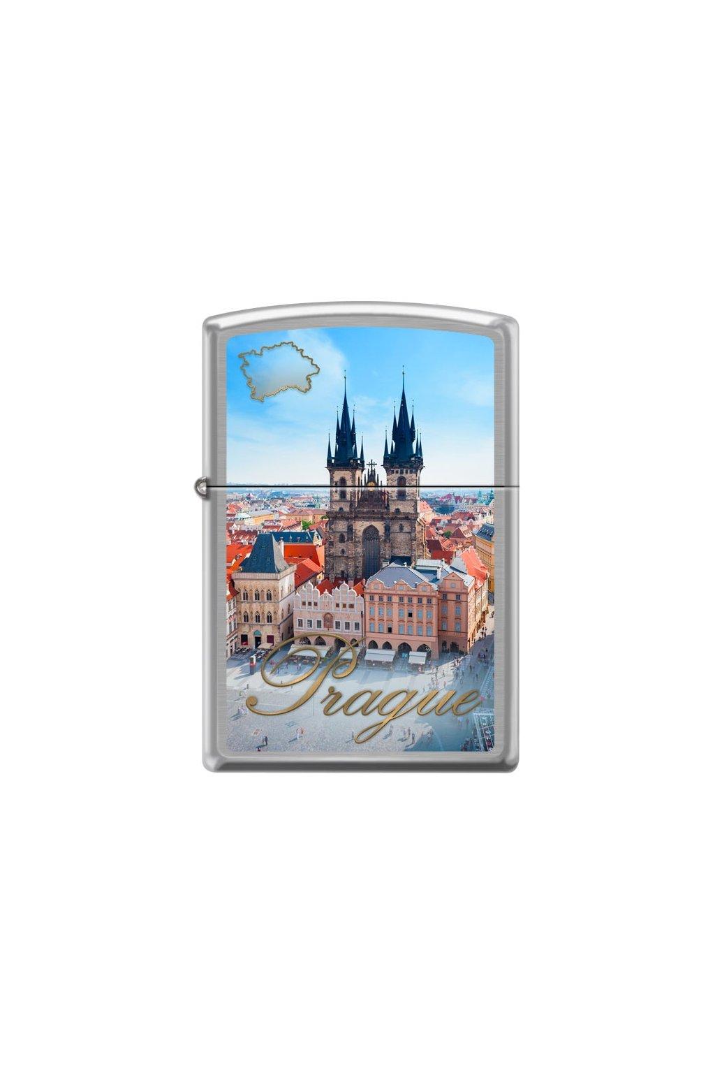 93236 zippo zapalovac 21889 prague old town square