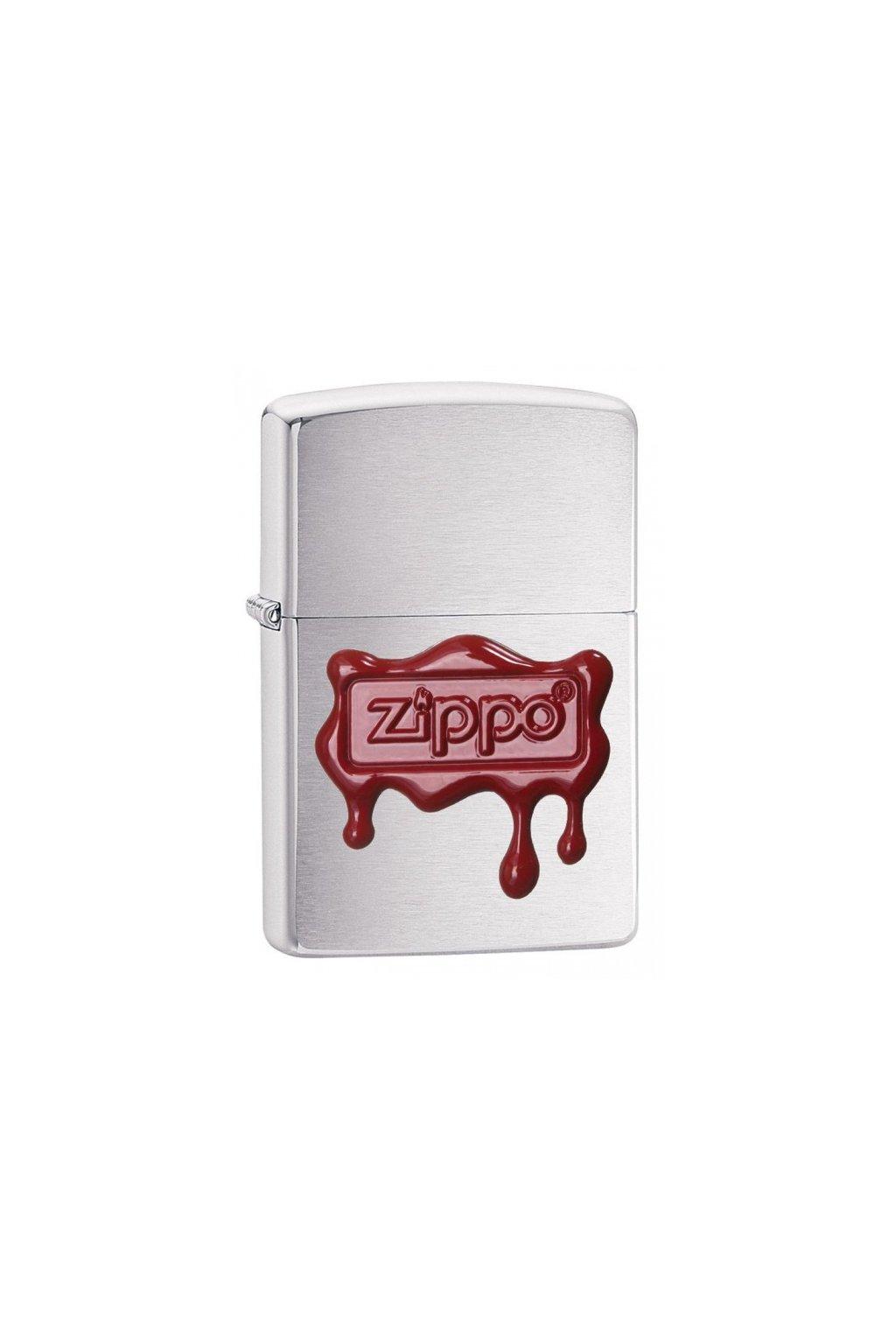 93242 zippo zapalovac 21891 red wax seal