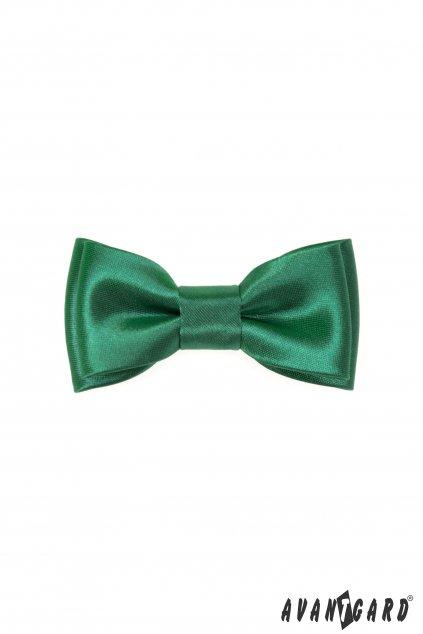 Zelený dětský motýlek