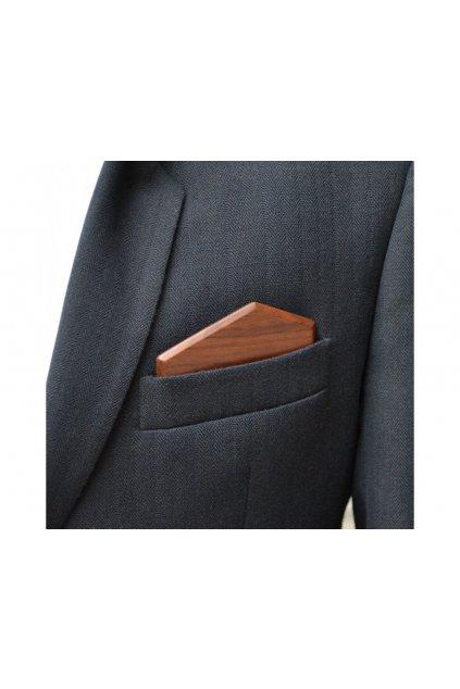 107498 dreveny kapesnicek elegance orech
