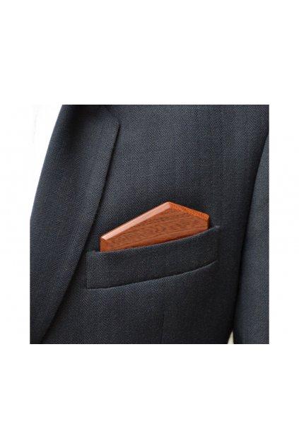 107501 dreveny kapesnicek elegance mahagon
