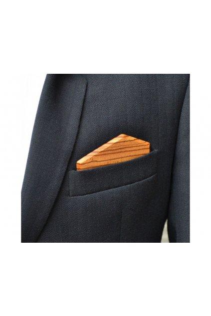 107504 dreveny kapesnicek elegance zebrano