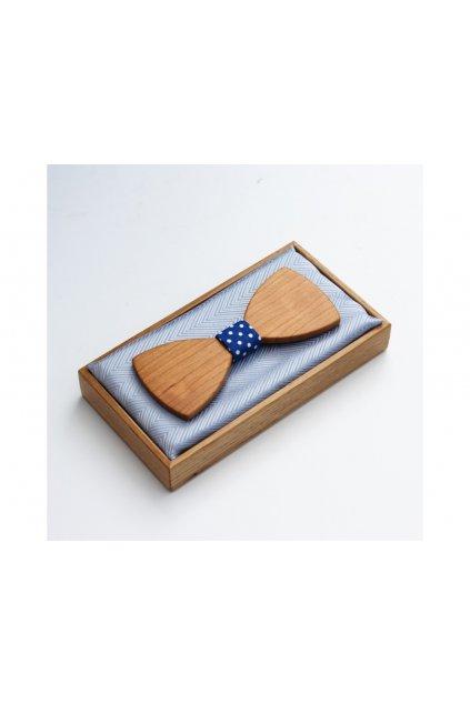 Dřevěný motýlek CLASSIC STANDARD - TŘEŠEŇ AMER.