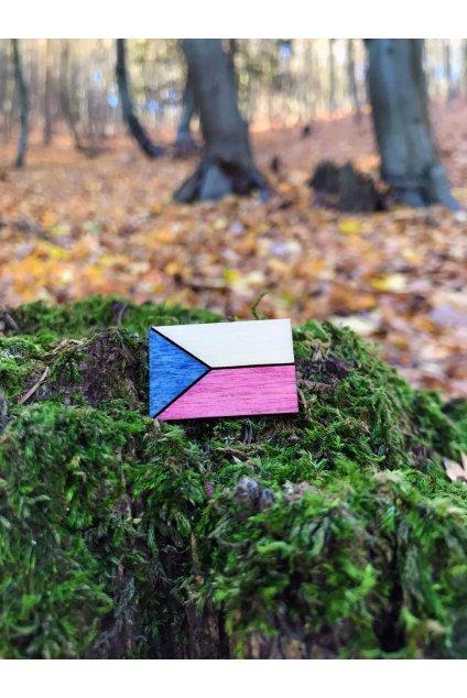 ČESKÉ SYMBOLY vlajka