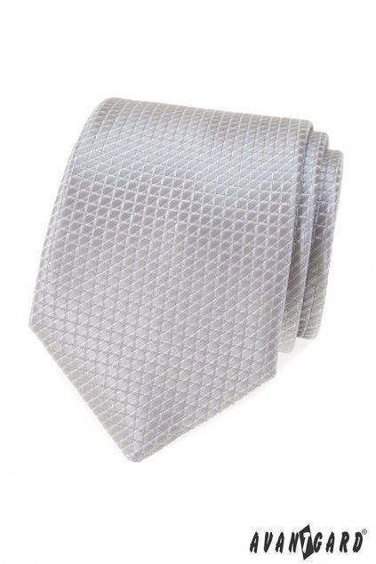 Šedá kravata