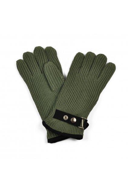 Jednoduché zateplené zimní rukavice