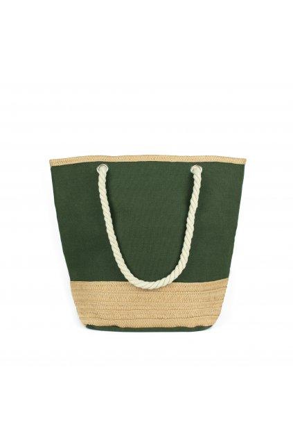 Modrá plážová taška