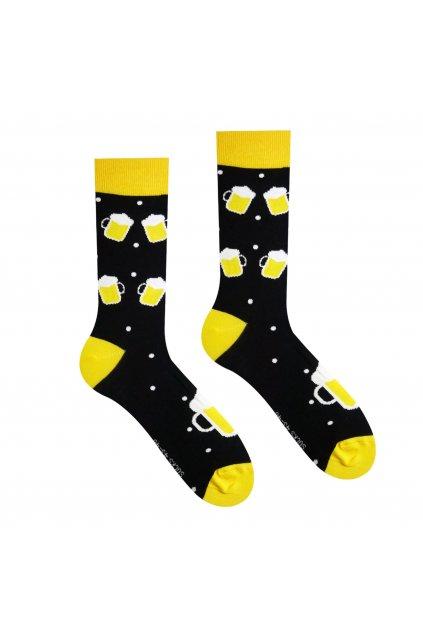 Veselé ponožky Pivko