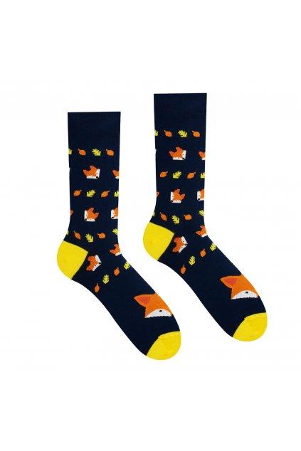 Veselé ponožky Lišiak