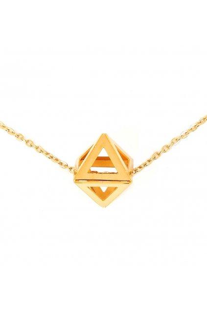 Náhrdelník Triangle Gold