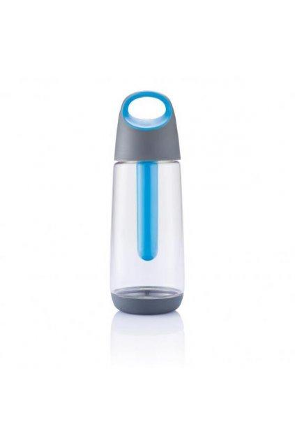 Chladící láhev Bopp Cool, 700 ml, XD Design, čirá/šedá/modrá