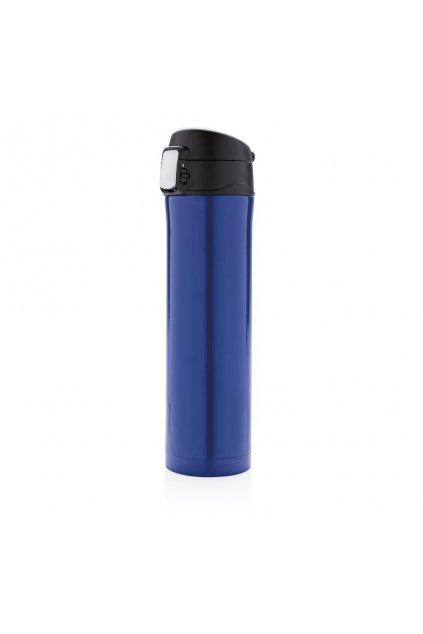 Uzamykatelná termoska Easy, 450 ml, Loooqs, modrá