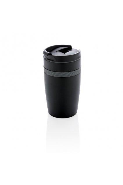Termohrnek do kávovaru Sierra, 280 ml, XD Xclusive, černý