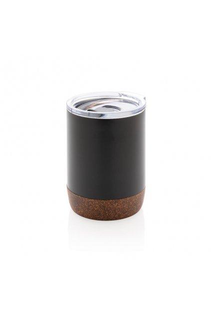 Termohrnek do kávovaru Cork, XD Design, černý