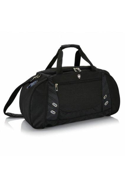 Chytrá sportovní taška Swiss Peak, černá, P707.230